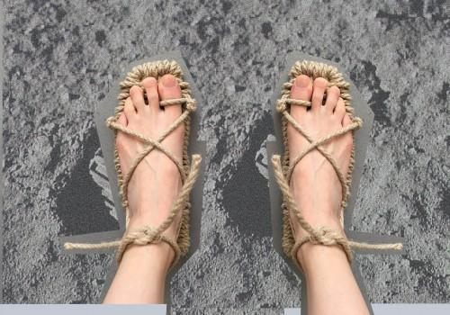 Orthopoetic sandals